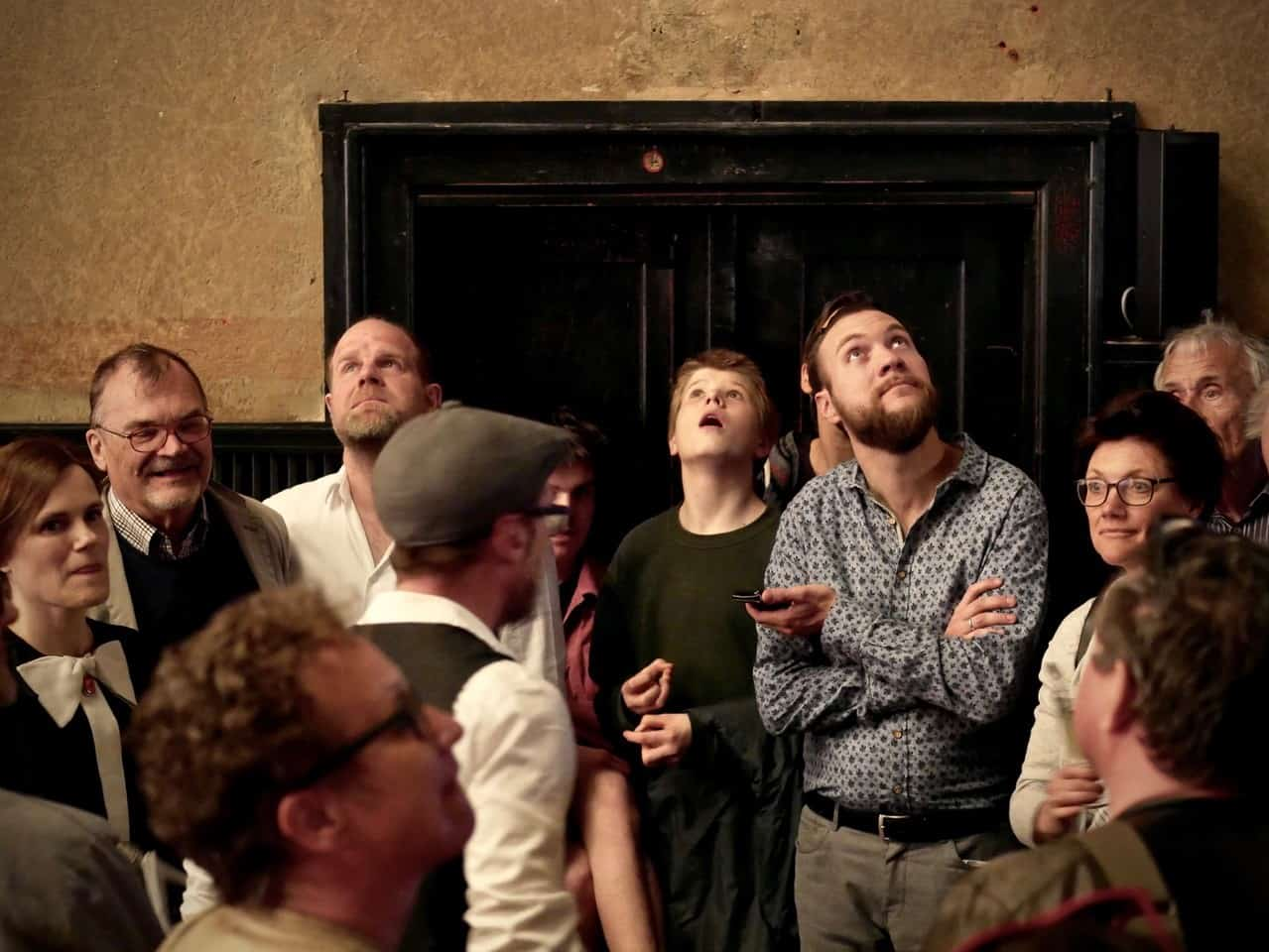 Gäste auf unserer Führung durch das ehemalige Stummfilmkino Delphi
